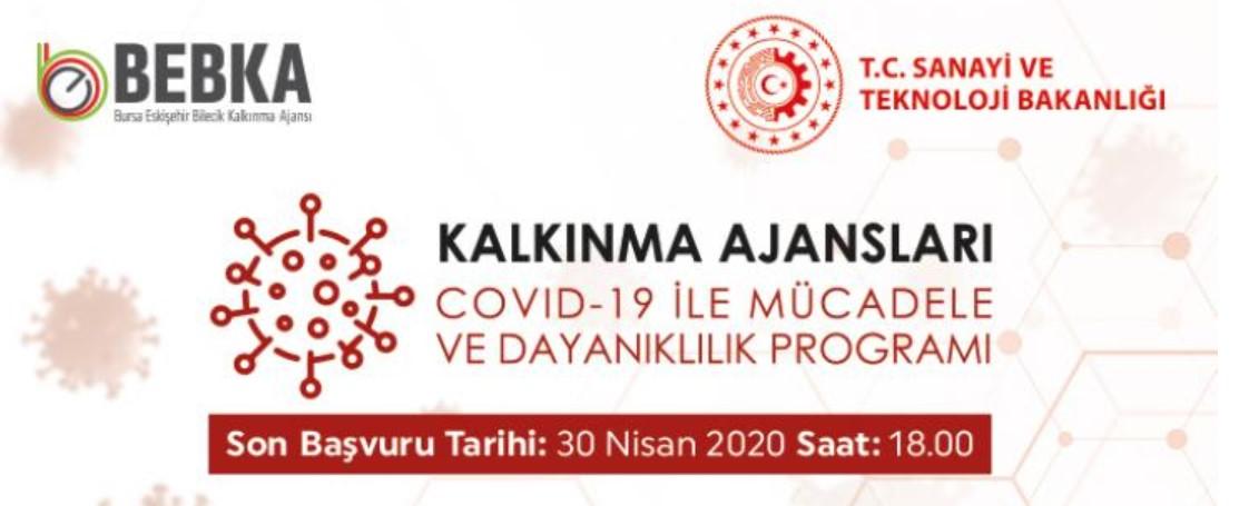 Bursa Eskişehir Bilecik Kalkınma Ajansı COVID-19 ile Mücadele ve Dayanıklılık Programı