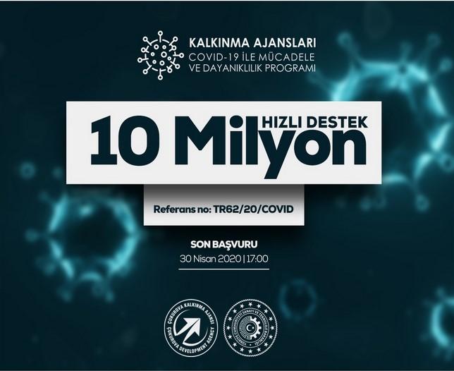 Çukurova Kalkınma Ajansı Adana - Mersin COVID-19 ile Mücadele ve Dayanıklılık Programı