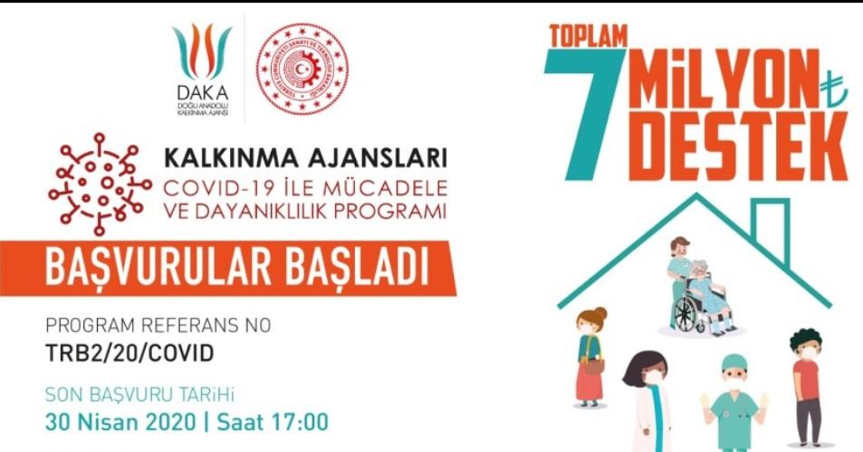 Doğu Anadolu Kalkınma Ajansı Van - Bitlis - Hakkari - Muş COVID-19 ile Mücadele ve Dayanıklılık Programı