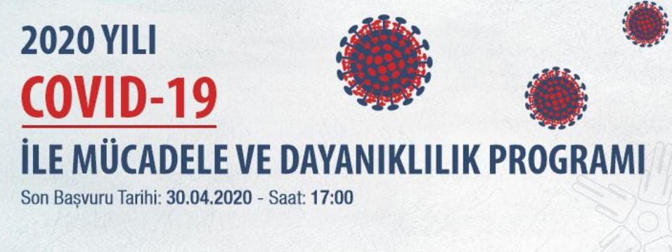 Doğu Marmara Kalkınma Ajansı Kocaeli - Bolu - Düzce - Sakarya – Yalova COVID-19 ile Mücadele ve Dayanıklılık Programı