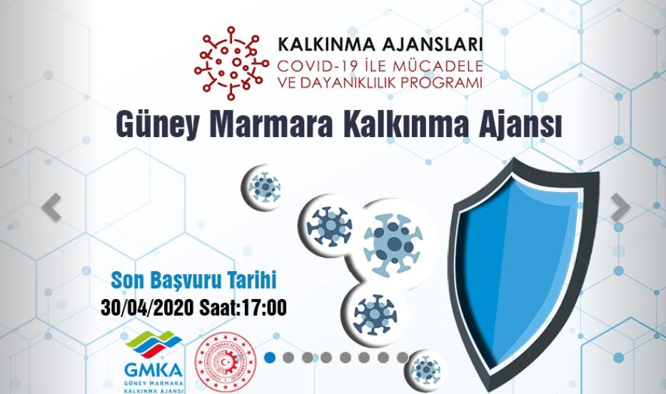 Güney Marmara Kalkınma Ajansı Balıkesir - Çanakkale COVID-19 ile Mücadele ve Dayanıklılık Programı