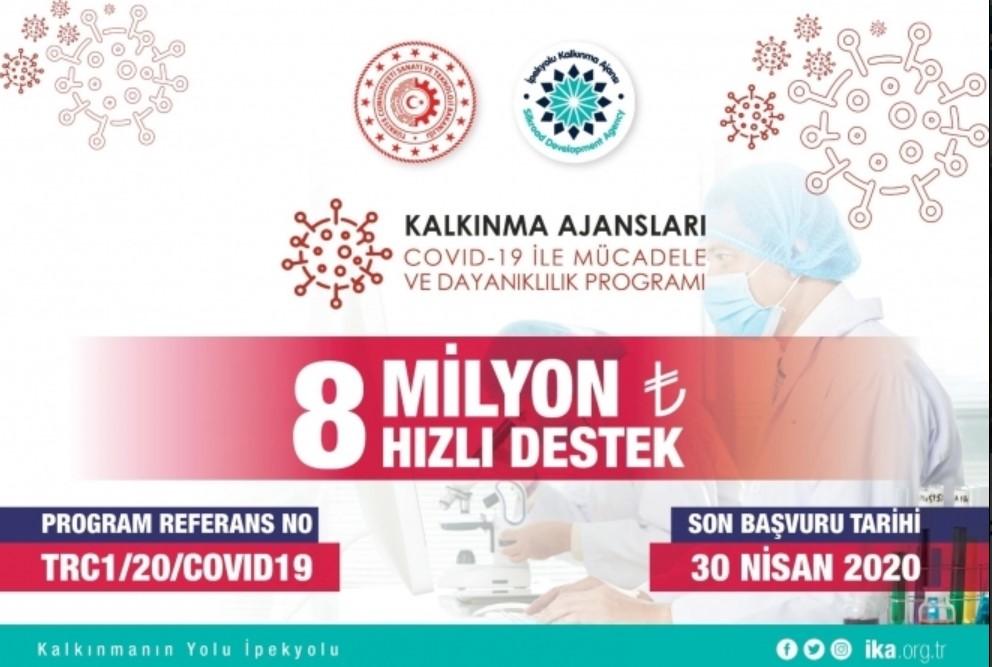 İpekyolu Kalkınma Ajansı Gaziantep - Adıyaman - Kilis COVID-19 ile Mücadele ve Dayanıklılık Programı