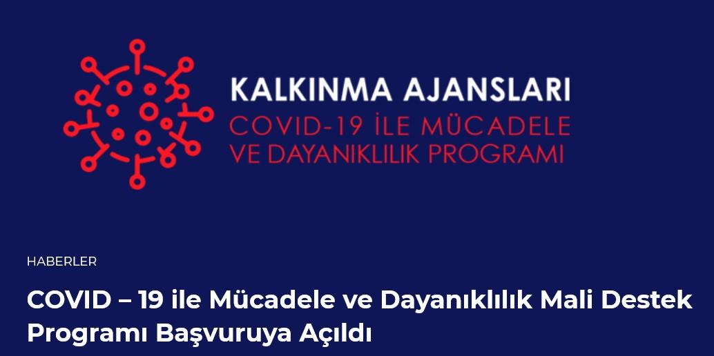 İzmir Kalkınma Ajansı COVID-19 ile Mücadele ve Dayanıklılık Programı