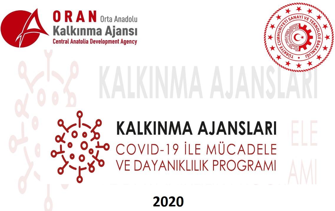 Orta Anadolu Kalkınma Ajansı Kayseri - Sivas - Yozgat COVID-19 ile Mücadele ve Dayanıklılık Programı