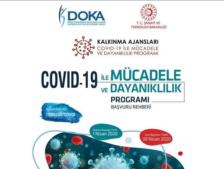Doğu Karadeniz Kalkınma Ajansı Trabzon - Artvin - Giresun - Gümüşhane - Ordu - Rize COVID-19 ile Mücadele ve Dayanıklılık Programı